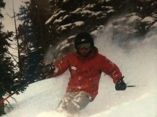 Chris Condon on the slopes