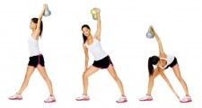 kettlebell twist lift