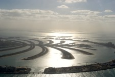 Palm Island from a helicopter